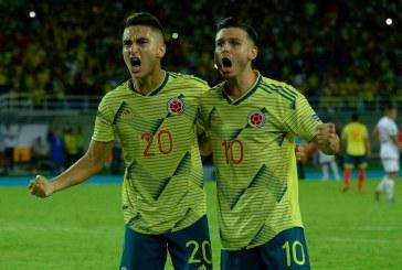 Selección Colombia Sub 23 igualó a 1 gol ante Brasil y sueña con Tokio 2020