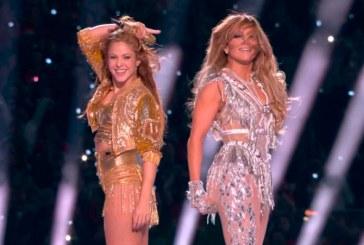 Reviva el impecable show de Jennifer López y Shakira en el medio tiempo del Super Bowl
