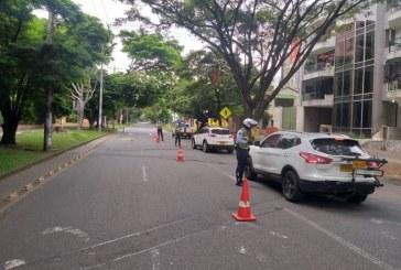 Cercade 400 conductores fueron multados por incumplir normas de tránsito este fin de semana