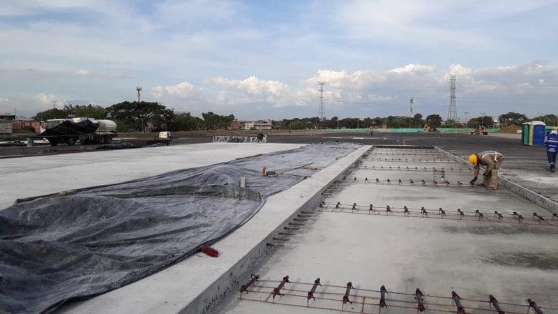 Este año comenzará a operar nuevo patio-taller Valle del Lili del Mío, obras van en un 64%