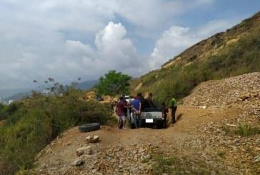 Capturadas 14 personas por explotación minero en el Cerro de las Tres Cruces