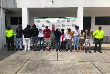 A la cárcel 11 presuntos integrantes de la banda 'Casablanca', dedicada al microtráfico en el norte del Valle
