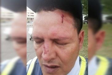 Motociclista que agredió a agente de tránsito en el sur de Cali, fue enviado a la cárcel