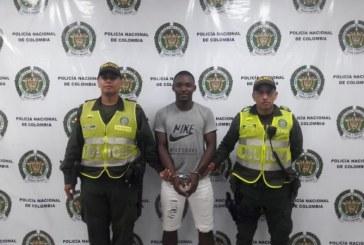 A la cárcel hombre capturado en flagrancia cuando incumplía detención domiciliaria