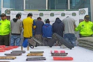 Cayeron 'Los ermitaños', banda dedicada al microtráfico en zonas escolares y públicas de Cali