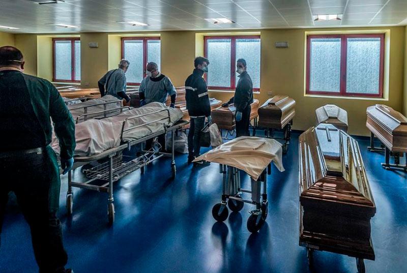 Italia superó 10.000 muertes por COVID-19, este sábado fallecieron ...