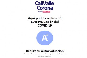 Descarte aquí el COVID-19 con un rápido test online