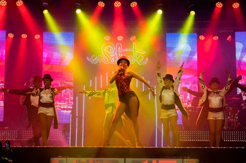 """Ensálsate aplaza su show: """"La Mujer de mil Colores"""" por prevención al Covid–19"""