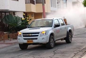Continúan jornadas de fumigación contra el dengue en seis municipios del Valle
