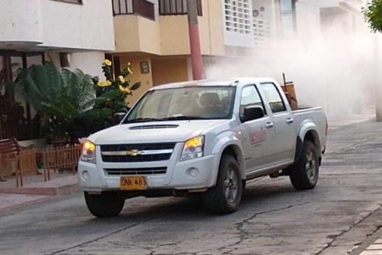 Con 22 muertes y más de 13 mil contagiados, Valle sigue proceso de fumigación en municipios