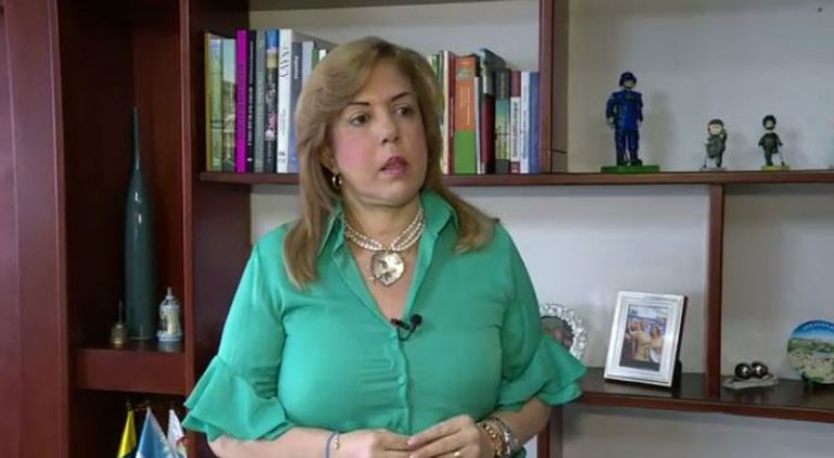 Gobernadora del Valle confirma que fue diagnosticada de cáncer linfático