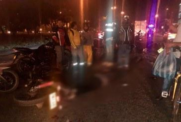Identifican a motociclista que murió en la madrugada de este miércoles tras chocar con un furgón