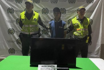 Judicializan a hombre que intentó hurtar el televisor en una finca de Tuluá