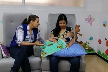 Madres podrán disfrutar de nueva Sala de Lactancia en Biblioteca Departamental