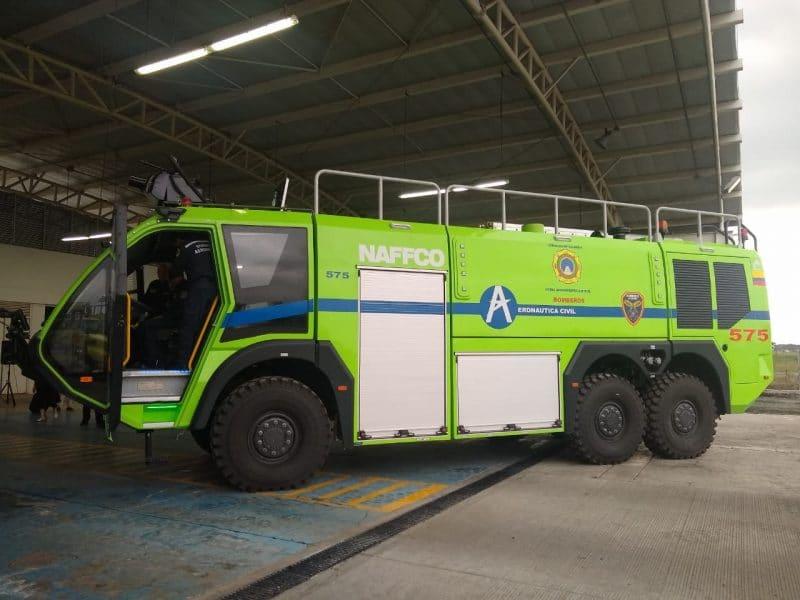 Máquinas de última tecnología ahora podrán reaccionar ante cualquier emergencia en el aeropuerto Alfonso Bonilla