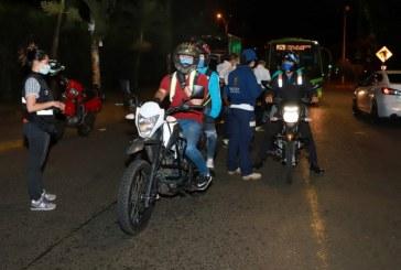 Más de 1.000 personas sancionadas durante primer día de cuarentena en el Valle