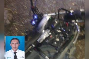 Motociclista falleció, al parecer, tras enredarse con cables de energía en vía Cali – Jamundí