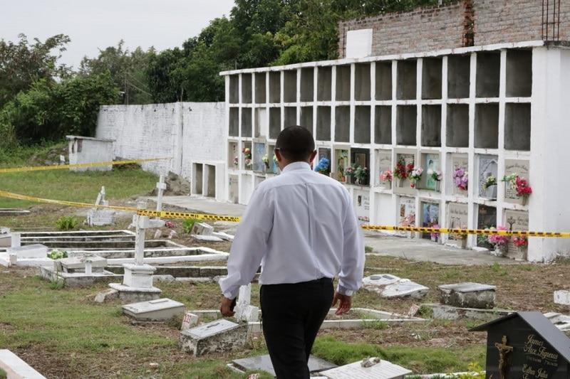 Este el proceso de los cementerios de Cali para fallecidos durante pandemia de COVID-19