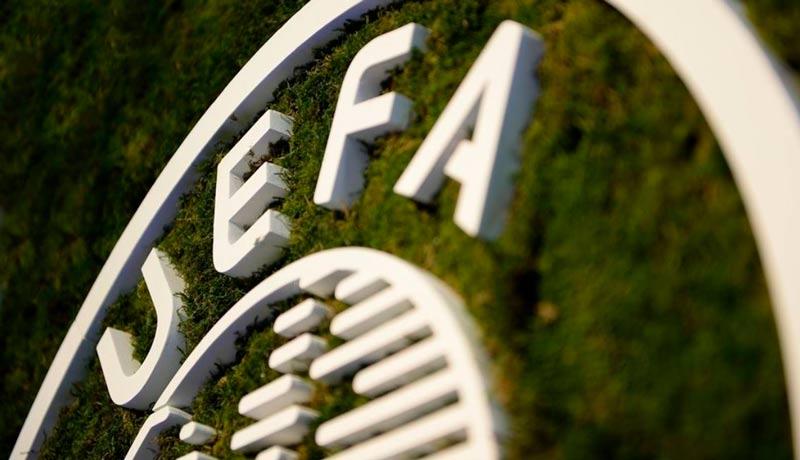 La UEFA solicitó que se dieran por terminadas las ligas