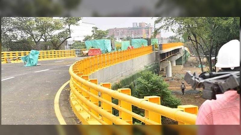 Ultiman detalles para inauguración de nuevo tramo en vía Cali-Jamundí, ahora será el puente de la Carrera 100 con Calle 25