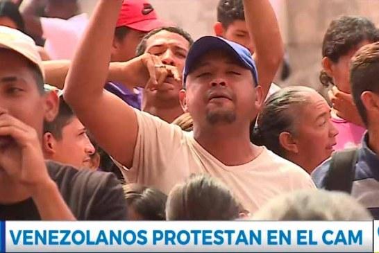 Video: venezolanos exigen a la Alcaldía mejoras en educación, salud, empleo y vivienda