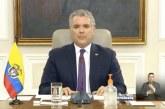 Presidente Iván Duque anuncia que aislamiento obligatorio en el país se extiende hasta el 26 de abril