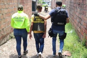 Tres hombres secuestrados en el oriente de Cali fueron rescatados por la Policía