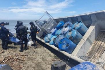 Armada Colombiana incautó 1.2 toneladas de cocaína en Buenaventura