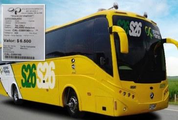 Secretario de Movilidad del Valle aseguró que incremento en las tarifas de transporte intermunicipal es legal