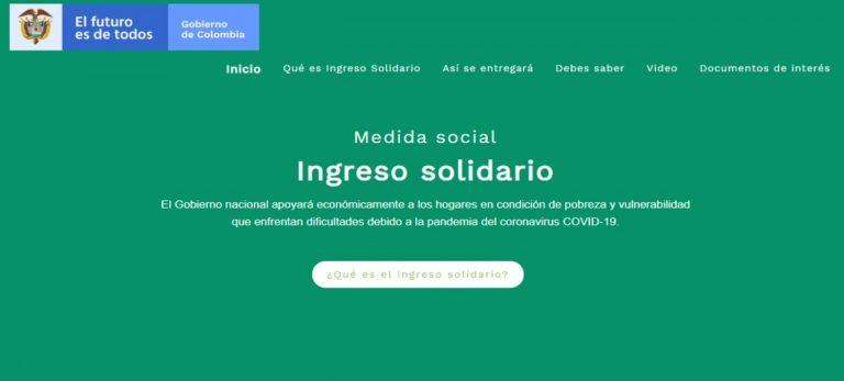 Comenzó segunda fase del 'Ingreso Solidario' para familias vulnerables, bono será de 240 mil pesos