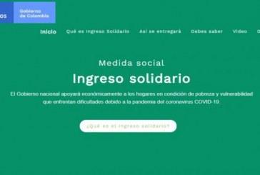 Ingreso Solidario se extenderá hasta agosto del 2021, anunció Duque