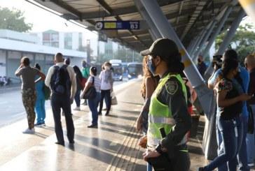 Mío suspende temporalmente 81 paradas en sectores con más contagiados por COVID-19