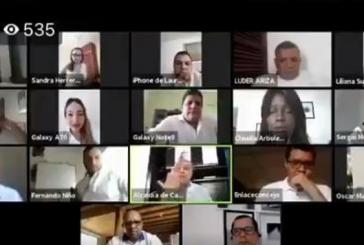 Con insultos y fuertes acusaciones terminó sesión virtual entre alcalde y concejales de Cartagena