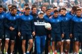 Diego Maradona: recuperándose de cirugía en la cabeza