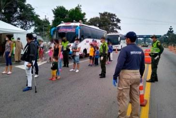 Más de 1.500 migrantes venezolanos han dejado Colombia por COVID-19, dice Migración
