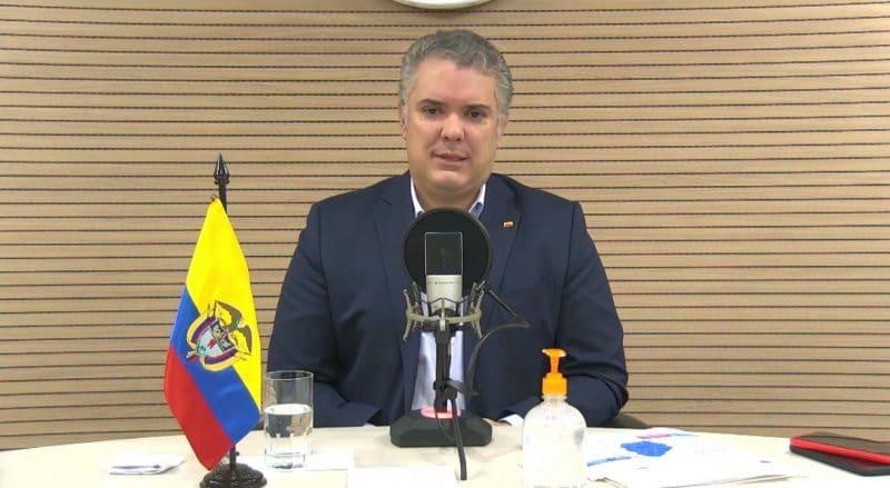 """""""Nueva reforma tributaria es para proteger a los más afectados en pandemia"""": Duque"""