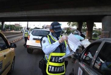 Primer día de 'Pico y Vida' registró 292 procedimientos y 45 inmovilizaciones de vehículos en Cali