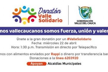 Todo listo para gran donatón 'Valle Solidario' este miércoles desde la 1:30 p.m. por Telepacífico