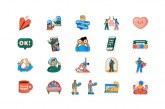 """WhatsApp y la OMS lanzan """"Juntos en casa"""", una nueva colección de """"stickers"""""""