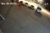 Ataque de oso a un hombre en plena ciudad quedó registrado en video de seguridad