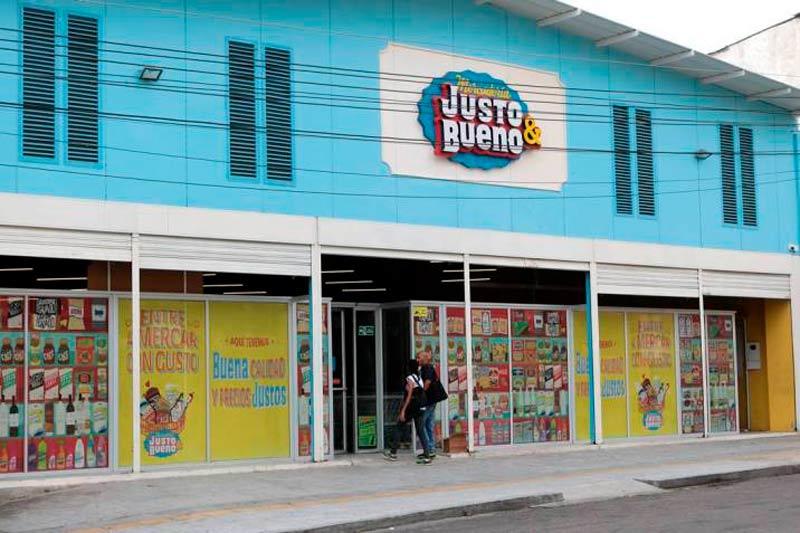 Cadena colombiana Justo & Bueno adquiere supermercados Erbi y llega a Chile