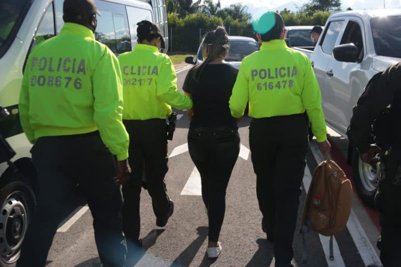 Capturada alias Doña Ana, presunta responsable de las finanzas del frente José María Becerra del ELN