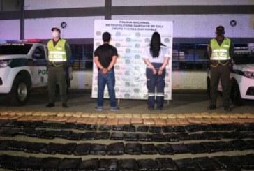 Cárcel a pareja que transportaba en Cali media tonelada de marihuana en una ambulancia
