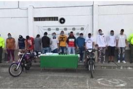 Desarticulan banda 'La 30', dedicada al homicidio y la venta de droga en Tuluá