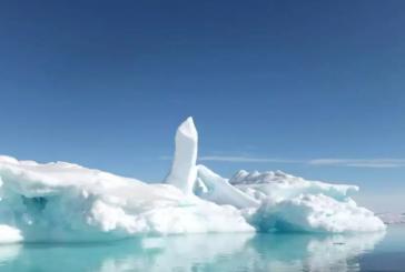 El hielo del Ártico se derritió un 20% desde 2009, informa la NASA