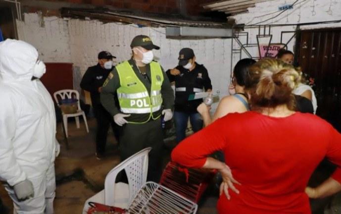 Nueve fiestas desactivaron las autoridades en Cali durante primera noche de toque de queda sectorizado