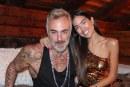 Gianluca Vacchi y su novia, 27 años menor que él, serán padres