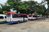 Con movilización, transportadores intermunicipales de Cali piden reactivación del sector