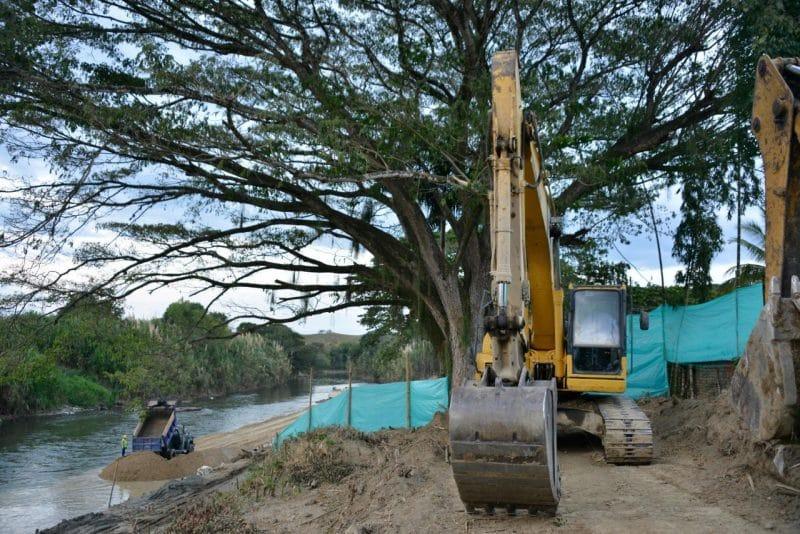 Inician obras en 16 municipios del Valle para prevenir inundaciones durante temporada de lluvias