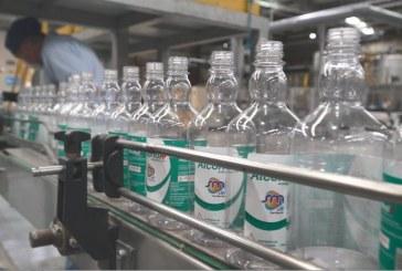 Inició producción de alcohol antiséptico en Industria de Licores del Valle